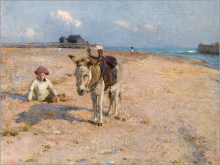 Galleritryck  On Suffolk Sands - Walter Frederick Osborne