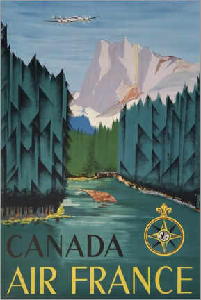 Premiumposter  Canada - Travel Collection