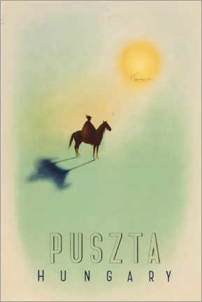 Premiumposter  Puszta, Hungary - Travel Collection