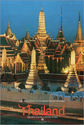 Canvastavla  Thailand, the most exotic country in Asia - Travel Collection