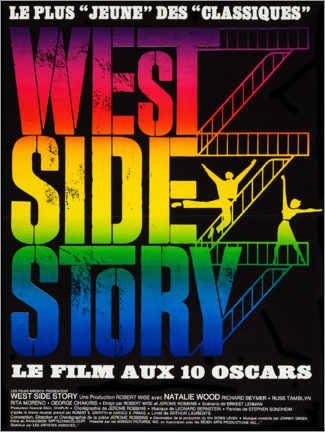 Premiumposter West Side Story (French)