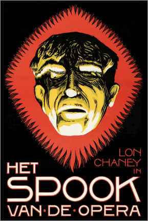 Premiumposter The Phantom of the Opera (Dutch)