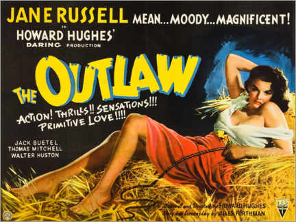 Premiumposter  The Outlaw - Entertainment Collection