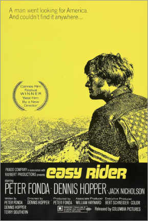 Premiumposter  Easy Rider - Entertainment Collection