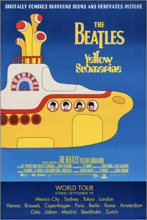 Premiumposter  The Beatles - Yellow Submarine - Entertainment Collection