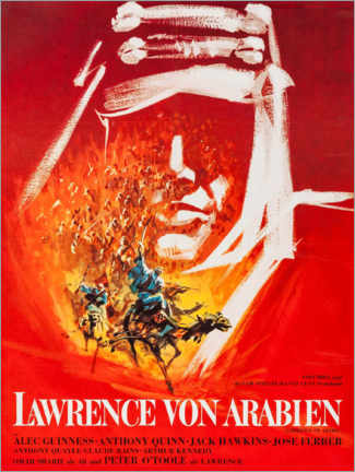 Premiumposter  Lawrence of Arabia (German) - Entertainment Collection