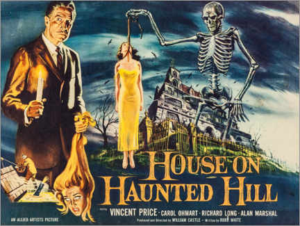 Premiumposter House on Haunted Hill