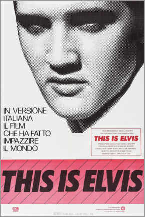 Canvastavla  This is Elvis - Entertainment Collection