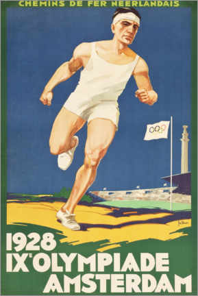 Premiumposter  IX. Olympiade 1928 - Entertainment Collection