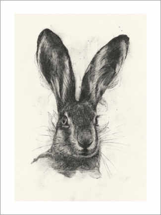 Aluminiumtavla  Brown hare - Richard Stark