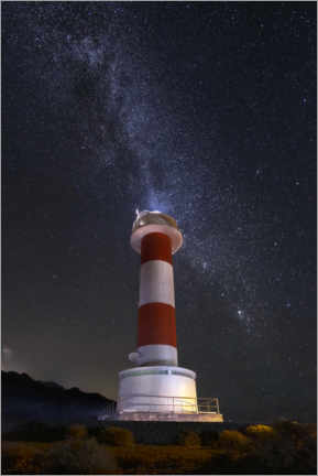 Premiumposter Lighthouse of the stars