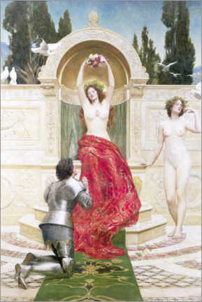 Premiumposter  In the Venusburg - John Collier
