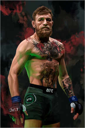 Canvastavla  Conor McGregor - Dmitry Belov