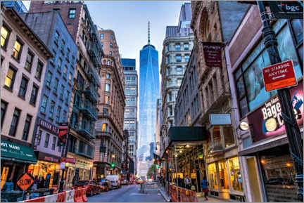 Premiumposter View of the One World Trade Center in New York
