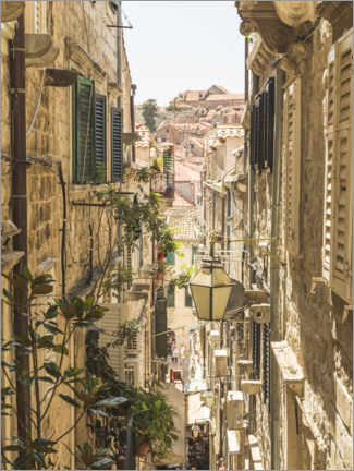 Premiumposter  Streets of Dubrovnik - Mike Clegg Photography