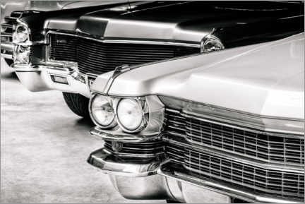 Premiumposter Classic cars from the seventies