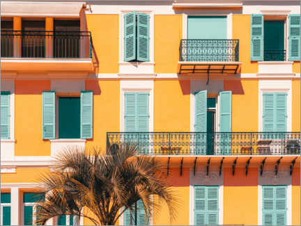 Premiumposter  Facade in Cannes, France - Radu Bercan