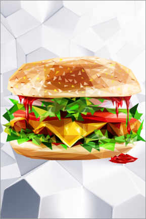 Premiumposter  Burger - Dmitry Belov