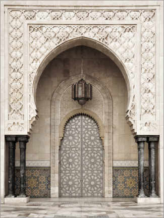 Galleritryck  Mosque detail in Morocco - Art Couture