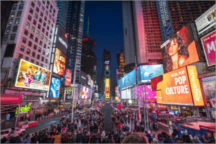 Premiumposter  Times Square in New York City - Jan Christopher Becke