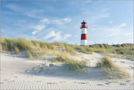 Akrylglastavla  List Ost lighthouse on Sylt - Jan Christopher Becke