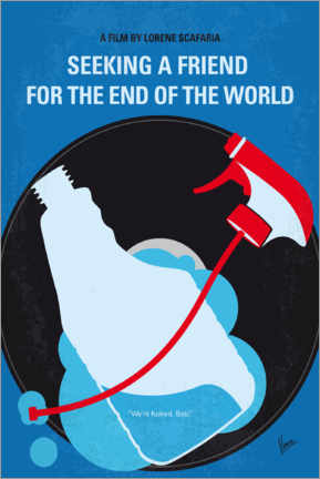 Premiumposter  Seeking a Friend For the End of the World - chungkong