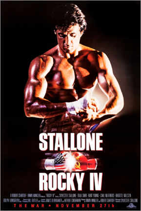 Premiumposter  Rocky IV - Entertainment Collection