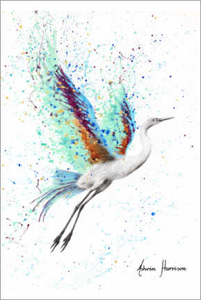 Premiumposter  Glowing sea bird - Ashvin Harrison