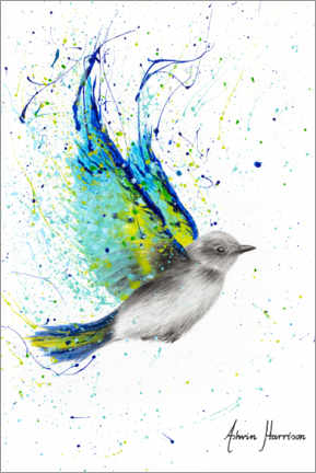 Premiumposter  Summer bird - Ashvin Harrison