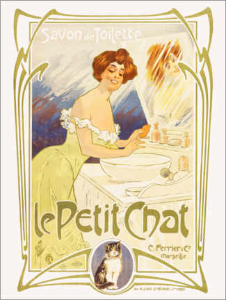 Galleritryck  Soap from Le Petit Chat - Ferdinand Misti-Mifliez