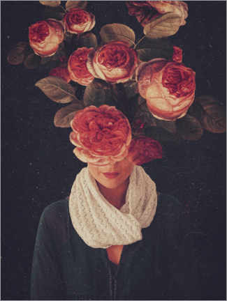 Premiumposter The smile of Roses