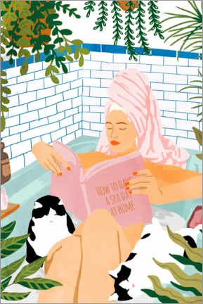 Premiumposter  How To Have A Spa Day At Home - Uma 83 Oranges