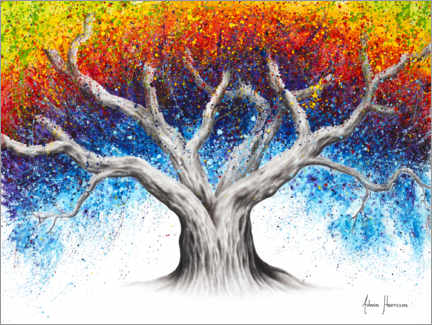 Premiumposter Rainbow Tree