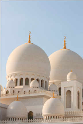 Canvastavla  The Sheikh Zayed Mosque in Abu Dhabi - CuboImages