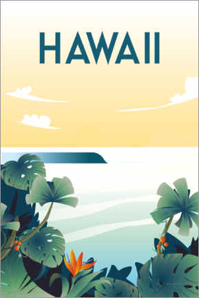 Canvastavla  Hawaii - Omar Escalante