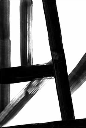 Premiumposter Abstract Lines