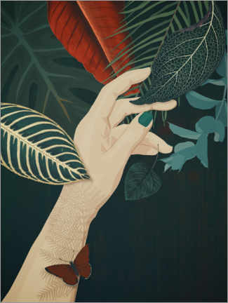 Premiumposter  One with nature - Sybille Sterk