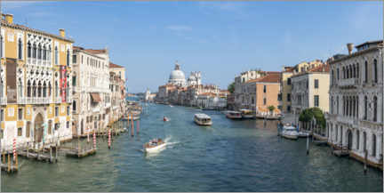 Premiumposter Grand Canal in summer