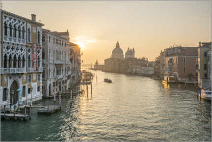 Premiumposter Grand Canal at sunrise