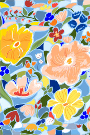 Premiumposter Summery Floral