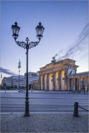 Premiumposter  Brandenburg Gate at the Place of March 18th - Jan Christopher Becke