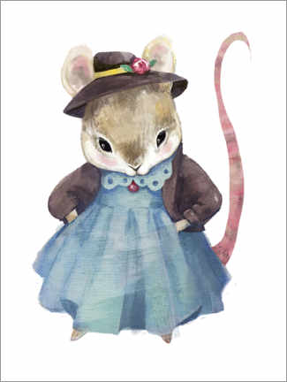 Premiumposter Mrs. Mouse