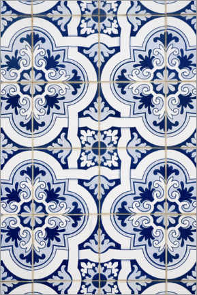Premiumposter Delft blue decor