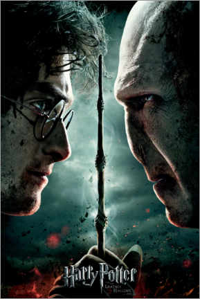 Canvastavla  The Deathly Hallows II - Duel