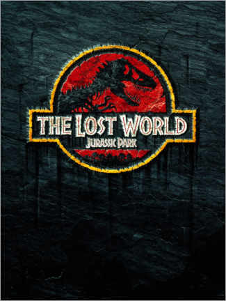 Akrylglastavla  The Lost World - Jurassic Park