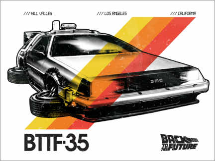 Premiumposter  DeLorean VHS I