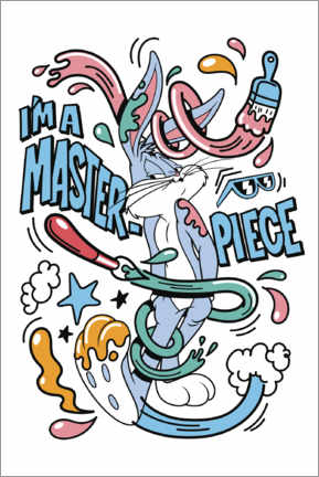 Premiumposter  Bugs Bunny - I'm a masterpiece