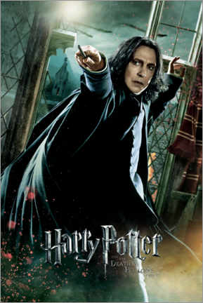 Premiumposter  The Deathly Hallows II - Severus Snape Duel