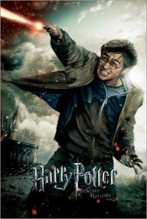 Premiumposter  The Deathly Hallows II - Harry Potter Duel