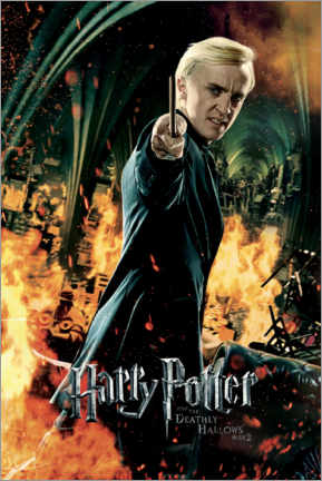 Premiumposter  The Deathly Hallows II - Draco Malfoy
